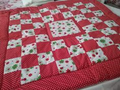 Hey, I found this really awesome Etsy listing at https://www.etsy.com/uk/listing/521033943/baby-red-white-patchwork-quilt-cot-cover