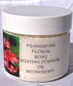 Frangipani Floral Body Dusting Powder Dry by LovingYouOilsAndMore