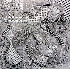 Xplore & Xpress: The Zentangle Inspired Art Project -1