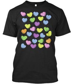 c5ec16e1e4dd Valentine's Day Sweethearts T-Shirt Front Valentine T Shirts, Valentines  Gifts For Him,