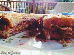 Living the Gourmet: Italian Style Panini Featuring Emmi Cheeses