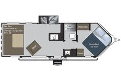 Image result for Cargo Trailer Conversion Floor Plans                                                                                                                                                                                 More