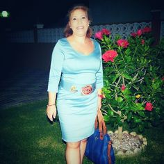 Brillo contentísima con su vestido de fajín bordado de @ribetedeoro #RibeteDeOroGirls #outfit #summer #vestido