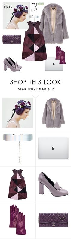 """""""Working purple"""" by eri-berry ❤ liked on Polyvore featuring beauty, TIBI, Accessorize, Florence Bridge, Gucci, Bloomingdale's, Chanel and Spartina 449"""