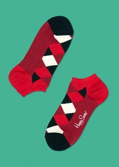 Square Low Socks