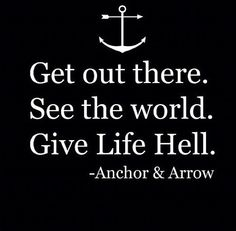 Anchor. Inspiring quote.