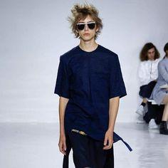 New York Fashion Week: 2016 Spring Summer Men's wear collection with GENTLE MONSTER X SI KI IM Collaboration DEN IM /BY SIKI IM . . #nyfashionweek #collection #menswear #nyfw2016 #fashionweek #collaboration #gentlemonster #sikiim #sunglasses #eyewear #fashion #젠틀몬스터