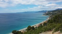 #finaleligure famous trails on the #edge #over the #sea #blu #blusea #blusky #rositalemanie #liguria #italianriviera