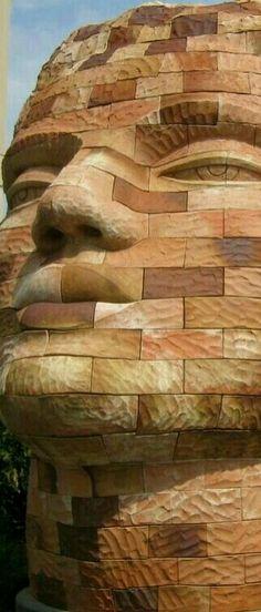 Brick Lane, Texture, Wood, Brick Road, Surface Finish, Woodwind Instrument, Timber Wood, Trees, Pattern
