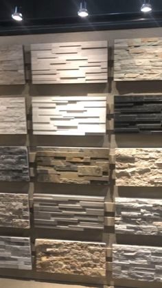 Tv Wand Design, Stone Veneer Panels, Faux Stone Panels, Faux Panels, Stone Exterior Houses, Exterior Wall Design, Foyer Design, House Paint Exterior, Stone Wall Design