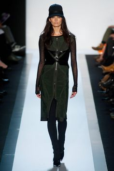 ...and then the bandages came back in the most beautiful way! @Hervé Léger Fall 2013 RTW Collection - Fashion on TheCut