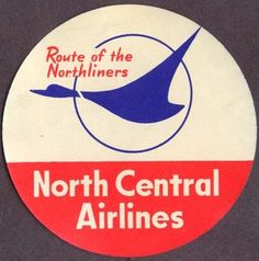 North Central Airways 1954