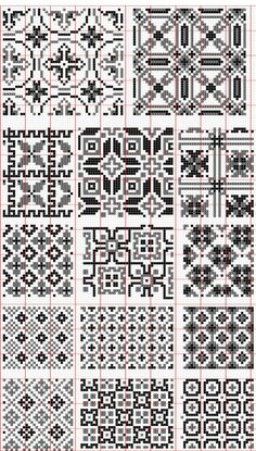 Dažādi raksti rūtiņu tehnikā - Rokdarbu grāmatas un dažādas shēmas - draugiem.lv