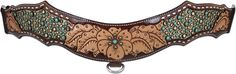 Van Gogh tripping breast collar by Heritage brand tack. Would look lovely in the barrel racing, break away roping, or even team roping arena. LOVE this horse tack!
