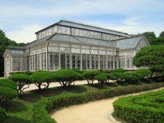 Description Glass house (oblique), Changgyeonggung - Seoul, Korea.jpg