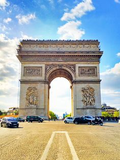 Arc de Triomphe, Paris – Would love to go back to Paris.