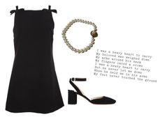 """is this love?"" by tuffleberry ❤ liked on Polyvore featuring Miu Miu and Prada"
