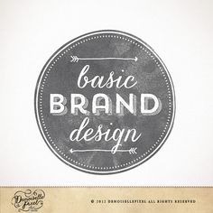 Custom Brand Identity Package / Custom Hand Drawn Logo Design, Business Card, Watermark Ooak