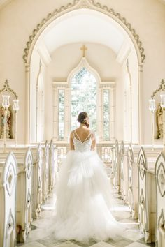 Our gorgeous bride in a custom Theia gown
