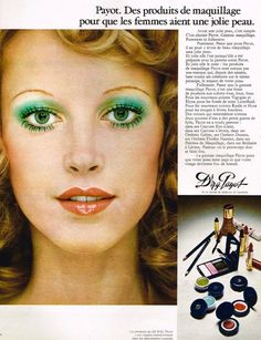 Dr N.G Payot Cosmetics Ad, 1973