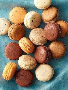 winter macarons - pumpkin, cinnamon, earl grey, chocolate-orange ...