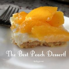 The best peach dessert - Deliciouse Cuisine Yummy Treats, Sweet Treats, Yummy Food, Just Desserts, Dessert Recipes, Jewish Desserts, Recipes Dinner, Fall Recipes, Buttery Cookies