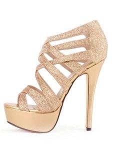 Selezione di sandali con tacco alto su Tb Dress Sandali D oro b3dcba8feaf
