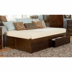 This will be my new bed. Perfect queen-sized daybed to feel like a built-in.