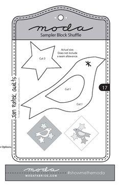 Moda Sampler Block Shuffle {Block 17} | Fort Worth Fabric Studio | Bloglovin'