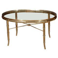 Mastercraft Brass Coffee Table http://www.1stdibs.com/dealers/house-of-honey