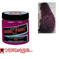 Manic Panic Hair Color Cream Deadly Nightshade ..oh how i wish they still made this color!!!!
