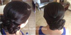 Hair: www.krystieann.com  wedding hair, bridal hair, bridesmaid hair, updo, beach wedding hair, punta cana weddings, majestic colonial resort, elegant hair