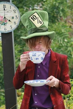 Mad, mad hatter.