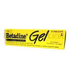 BETADINE 10% GEL TOPICO 30 G