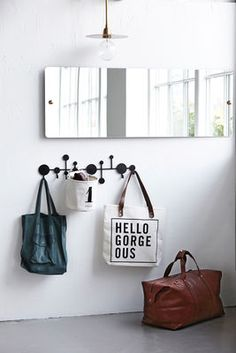 Circles / Metall - L 65 cm | House Doctor | Garderobe