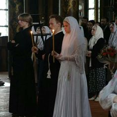 Old Believer wedding Nun Catholic, Old Believers, Orthodox Wedding, Head Coverings, Russian Orthodox, Christian Women, Byzantine, Modest Dresses, Religion