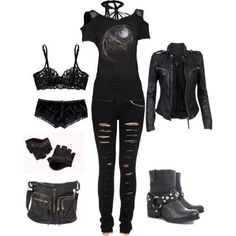 For all those individuals who enjoy dressing in gothic style fashion clothes and niknaks, it's important to try to seem as exclusive as possible. This means checking up on the newest fashion that is available. Happily, the ability to Cute Emo Outfits, Punk Outfits, Teen Fashion Outfits, Gothic Outfits, Mode Outfits, Grunge Outfits, Casual Outfits, Fashion Clothes, Fashion Ideas