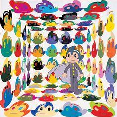 Dongi Lee_Virtual Insanity_acrylic on canvas_190×190cm_2004