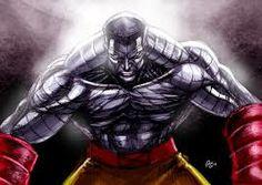"Colossus :Piotr ""Peter"" Nikolaievitch Rasputin--AKA : Rasputin, Peter Nicholas,--Human Mutant--Abilities :able  to transform his body into ""organic steel"" granting him superhuman strength, stamina, and durability-- Notable Teams: X-Men- Defenders- Excalibur- Acolytes- Phoenix Five- X-Force- Marvel Comics/ Current title : X-Force"