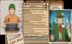 Arkham Files - Mad Hatter by Roysovitch on DeviantArt