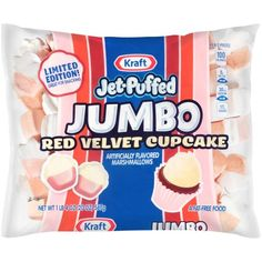 Jet Puffed Marshmallows, Flavored Marshmallows, Snack Recipes, Snacks, Red Velvet Cupcakes, 100 Calories, Pop Tarts, Free Food, Sweets