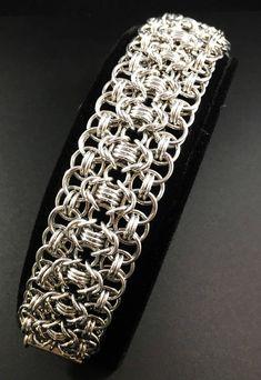 Rondo a la Byzantine Silver Cuff Bracelet