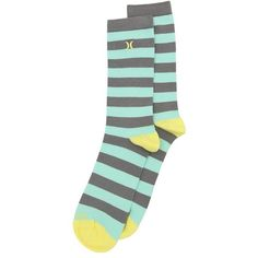 Hurley Honor Roll Crew Socks $6.99