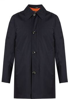 Paul Smith Gilet-lined Wool Coat In Navy Navy Wool Coat, Navy Pea Coat, Mens Wool Coats, Mens Quilted Coat, Paul Smith, Men Casual, Men's Coats, Men's Outerwear, Mens Tops