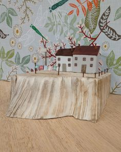 n°67 Miniature wooden houses Upcycled by Maria