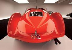 1938 Alfa Romeo Mille Miglia Spyder.