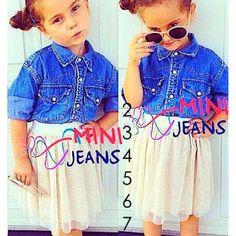 Tshirt Jeans Stech T  utu Mini jeans 142