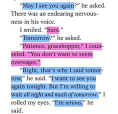 Except from The fault in our stars