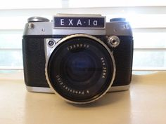 EXA 1A Camera by TallFlowerTreasures on Etsy, $40.00 Great for a staging/decorating.