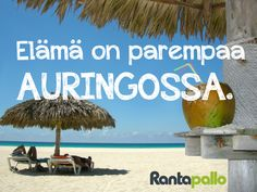www.rantapallo.fi Letting Go, Coconut, Let It Be, Fruit, Food, The Fruit, Meals, Giving Up, Lets Go